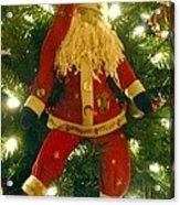 Santa Got Hung Up Acrylic Print