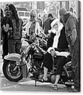 Santa Helpers Acrylic Print