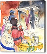 Santa Margherita In Italy 10 Acrylic Print