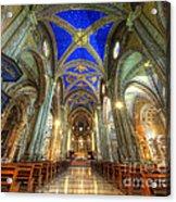 Santa Maria Sopra Minerva Acrylic Print