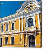 Santa Marta City Hall Acrylic Print