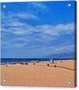 Santa Monica Beach California Acrylic Print