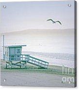 Santa Monica Beach Acrylic Print