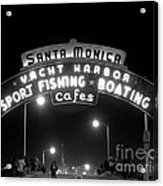 Santa Monica Pier 1 Acrylic Print