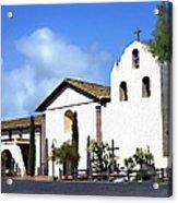 Santa Ynez Mission Solvang California Acrylic Print