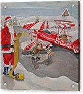Santa's Airport Acrylic Print