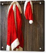 Santa's Coat Acrylic Print