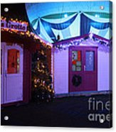 Santa's Grotto In The Winter Gardens Bournemouth Acrylic Print