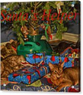 Santa's Helpers Acrylic Print