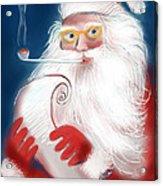 Santa's List Acrylic Print