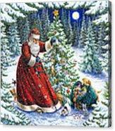 Santa's Little Helpers Acrylic Print by Lynn Bywaters