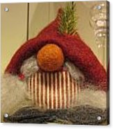 Santas Nose Acrylic Print