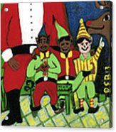 Santa's Workshop Acrylic Print