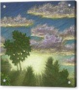Santee Sunset 01 Acrylic Print