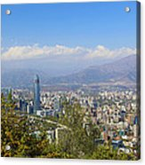 Santiago  Chile Acrylic Print