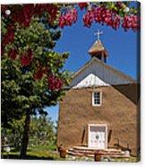 Santisima De Trinidad Mission Church Acrylic Print