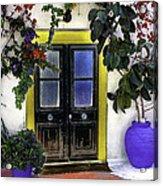 Santorini Doorway 2 Acrylic Print