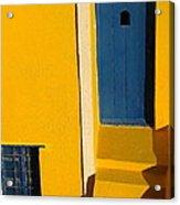 Santorini Doorway Acrylic Print
