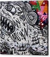 Sao Paulo Graffiti Vii Acrylic Print by Julie Niemela