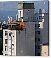 Sao Paulo Penthouse Acrylic Print