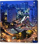 Sao Paulo Skyline - Downtown Acrylic Print