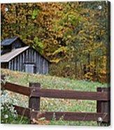 Sap Barn Or House Acrylic Print