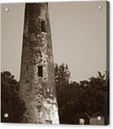 Sapelo Island Lighthouse Acrylic Print by Skip Willits