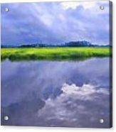 Sapelo Morning Acrylic Print