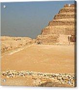 Saqqara Step Pyramid Acrylic Print