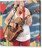 Sara Hickman Acrylic Print