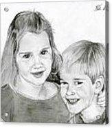 Sarah And Matt Acrylic Print