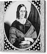 Sarah Childress Polk (1803-1891) Acrylic Print