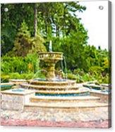 Sarah Lee Baker Perennial Garden 5 Acrylic Print
