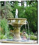 Sarah Lee Baker Perennial Garden 6 Acrylic Print
