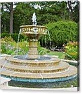 Sarah Lee Baker Perennial Garden 7 Acrylic Print