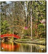 Sarah P. Duke Gardens Acrylic Print