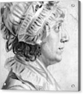 Sarah Tayloe Washington (1765-1835) Acrylic Print