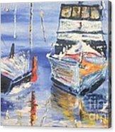 Sarasota Florida Marina Acrylic Print