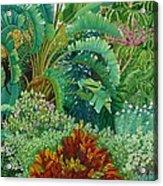 Sarasota Garden Acrylic Print
