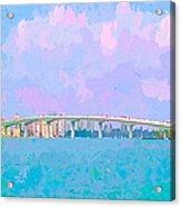 Sarasota Via Ringling Bridge Acrylic Print