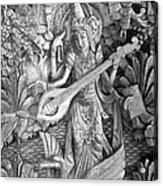 Saraswati - Supreme Goddess Acrylic Print