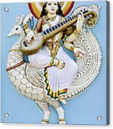 Saraswati Acrylic Print by Tim Gainey
