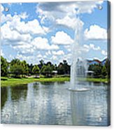 Saratoga Springs Resort Walt Disney World Acrylic Print