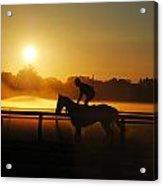 Saratoga Sunrise  Acrylic Print