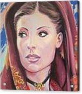 Sardinian Lady Acrylic Print by Andrei Attila Mezei
