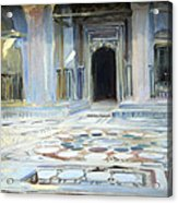 Sargent's Pavement In Cairo Acrylic Print