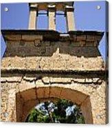 Sassia Monastery Bell Tower Acrylic Print