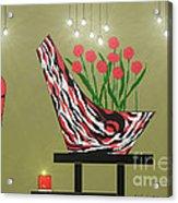 Sassy Decor Acrylic Print by Lewanda Laboy