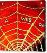 Satan's Web Acrylic Print
