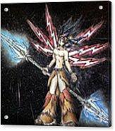Satari God Of War And Battles Acrylic Print
